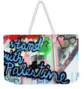 Stand With Palestine Weekender Tote Bag