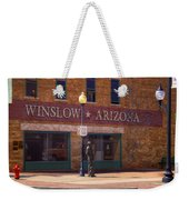 Standin On A Corner Weekender Tote Bag