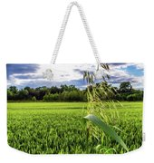 Standing Above The Crop Weekender Tote Bag