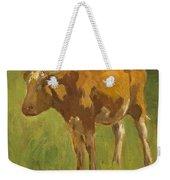Standing Calf Weekender Tote Bag