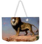 Standing Lion Weekender Tote Bag