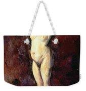 Standing Nude Woman Weekender Tote Bag by Cezanne