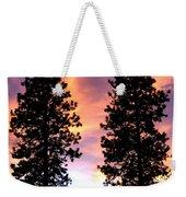 Standing Tall At Sundown Weekender Tote Bag