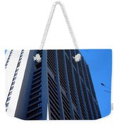 Standing Tall Chicago Weekender Tote Bag