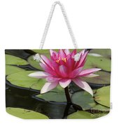 Standing Tall In The Pond Weekender Tote Bag