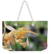 Stanhopea Orchid Weekender Tote Bag