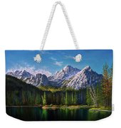 Stanley Lake Reflections Weekender Tote Bag