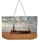 St.annes Beach, Lancashire, England Weekender Tote Bag