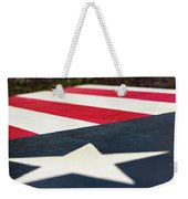 Star And Stripes Weekender Tote Bag