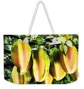 Star Apple Fruit On Tree Weekender Tote Bag