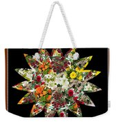 Star Flower Bouquet Creation By Navinjoshi At Fineartamerica.om Graphics Art   Elegant Interior Deco Weekender Tote Bag
