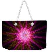 Star Flower Weekender Tote Bag