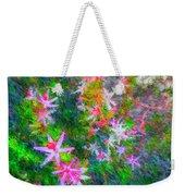 Star Flowers Shine Weekender Tote Bag