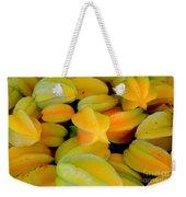 Star Fruit Weekender Tote Bag