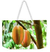 Star Fruit On The Tree Weekender Tote Bag