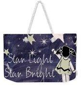 Star Light Star Bright Chalk Board Nursery Rhyme Weekender Tote Bag