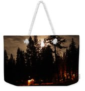 Star Lit Camp Weekender Tote Bag