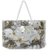Star Magnolia Blossoms Weekender Tote Bag