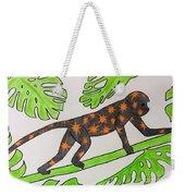 Star. Monkey  Weekender Tote Bag