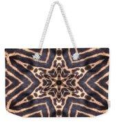 Star Of Cheetah Weekender Tote Bag