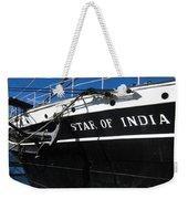 Star Of India Tall Ship San Diego Bay Weekender Tote Bag