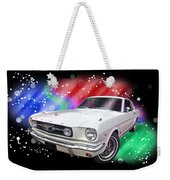 Star Of The Show - 66 Mustang Weekender Tote Bag