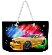 Star Of The Show - Mustang Gtr Weekender Tote Bag