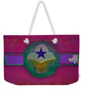 Star Of Venice Weekender Tote Bag