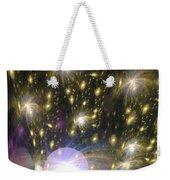 Star Particles Weekender Tote Bag
