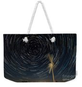 Star Trail In Hays, Ks Weekender Tote Bag