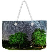 Star Trails At Sunken Meadow State Park Weekender Tote Bag