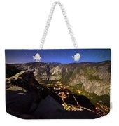 Star Trails At Yosemite Valley Weekender Tote Bag