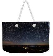 Star Trails Over Whitesburg Weekender Tote Bag