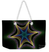 Star Twist Spiral Weekender Tote Bag