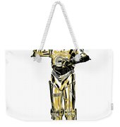 Star Wars C-3po Droid Tee Weekender Tote Bag
