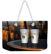 Starbucks At The Top Weekender Tote Bag