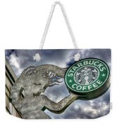 Starbucks Coffee Weekender Tote Bag