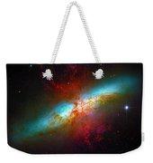 Starburst Galaxy M82 Weekender Tote Bag