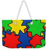 Starburst Weekender Tote Bag