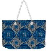 Stardrop Diamond Blue Weekender Tote Bag