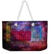 Stardust Periodic Table Weekender Tote Bag