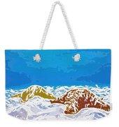 Starfish 1 Weekender Tote Bag by Lanjee Chee