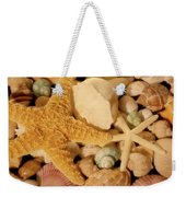 Starfish And Seashells Weekender Tote Bag