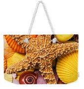 Starfish And Seashells  Weekender Tote Bag