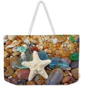 Starfish Art Prints Star Fish Seaglass Sea Glass Weekender Tote Bag