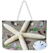 Starfish Beach Still Life Weekender Tote Bag by Garry Gay