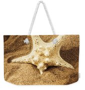 Starfish In Sand Weekender Tote Bag