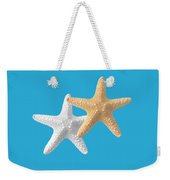 Starfish On Turquoise Weekender Tote Bag