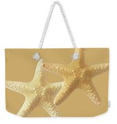 Starfish On White Weekender Tote Bag