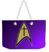 Starfleet Pastor  Weekender Tote Bag